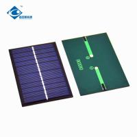 Buy cheap 0.65W 6V solar panel photovoltaic ZW-9060 Poly Silicon solar cell phone charger from wholesalers