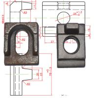 Buy cheap rail clamp/clamp plate/rail clip from wholesalers