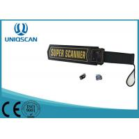 Buy cheap Hand Held Security Detector For Security System , Alarm Metal Detector Hand Wand from wholesalers