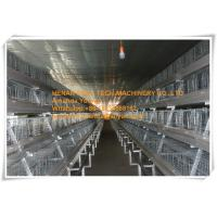 Buy cheap New Steel Sheet Silver White Poultry Farm Automatic Day Old Chicken Cage Equipment with 90-200 Chickens from wholesalers