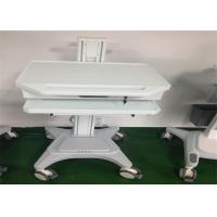 Buy cheap Medical Working Station Patient Monitor Stand Hydraulic Laptop Computer Cart from wholesalers