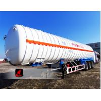 Buy cheap Professional Tractor Trailer Truck 52.6CBM LNG Tank Trailer With 3 Axles from wholesalers