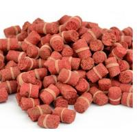Buy cheap Hot Selling! Granular Red Smell Grass Carp Baits Crucian Fishing Baits Fishing Lures from wholesalers