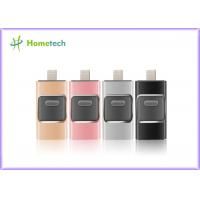 Buy cheap Mobile Phone USB Flash Drive For IOS / Android , I- Easy Drive With Aluminum Alloy Material from wholesalers