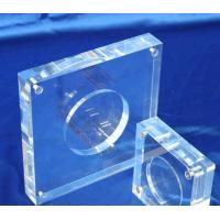 Buy cheap Acrylic Coin Capsule Display Commemorative Coin Holder Customized from wholesalers
