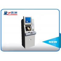 Buy cheap 19 Inch Automatic Self Service Card Dispenser Kiosk With Coin Counter from wholesalers