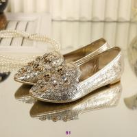 Buy cheap Wholesale New arrival McQueen skulls sequins flat shoes metal rivets coyotes leather shoes from wholesalers