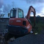 Buy cheap KUBOTA KX08-3T Excavator Rubber Tracks KB450*81.5*76 with Medium Sizes from wholesalers