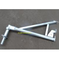 Buy cheap 0.72m 7.4kg hot galvanized haki scaffold  bracket from wholesalers