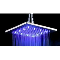Buy cheap LED Contemporary Rain Shower Head / Ceiling Mount Rainfall Shower Head from wholesalers