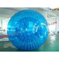 Buy cheap Inflatable Blue Water Walking Ball , Big Kids Rolling Bubble Ball from wholesalers