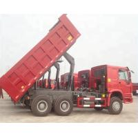 Buy cheap ZZ3257N3647A 25 Ton Tipper Truck / Sinotruk Howo Dump Truck Optional Color from wholesalers