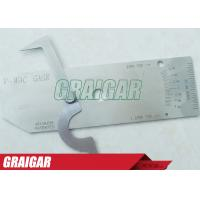 Buy cheap Biting Edge Stainless Steel Welding Gauge Gage As Industrial Welding Equipment from wholesalers