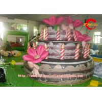 Buy cheap Three Story Birthday Cake Inflatable Model For Outdoor Exhibitions from wholesalers