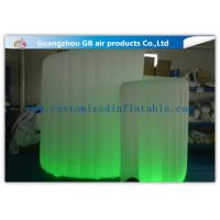 Buy cheap OEM Available Led Inflatable Photo Booth , Foldable Inflatable Spiral Photo Booth product