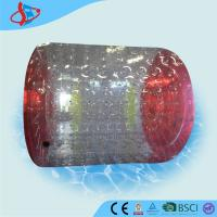 Buy cheap Customized Red Body Bumper Inflatable Balls Clear For Swimming Pool from wholesalers