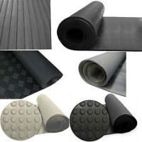 Buy cheap Safty and durable latex rubber sheet with multiple functions for industrial use from wholesalers