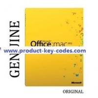 Buy cheap Home Office MAC 2011 Microsoft Office Product Key Codes For Student from wholesalers