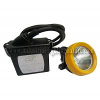 Buy cheap 15000 Lux DC 4.2V Mining Hard Hat Lights 3.7V with Short Circuit Protection from wholesalers