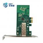 Buy cheap marcas tarjeta de red Intel I210 single sfp port gigabit ethernet pci-express card from wholesalers