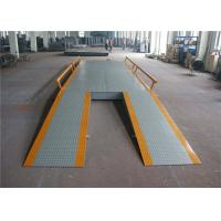 Concrete 80 Ton Electronic Lorry Weighbridge 220 - 300mm Channel Beam