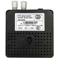 Buy cheap Ftth Fiber Optic Ordinary Double Output HSGS10076/2   -40~75 ℃  Working Storage from wholesalers