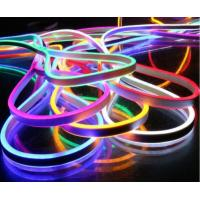 Buy cheap DMX mini RGB Neon flex,72pcs 5050SMD/m color changing led neon tube with remote controler ,220-240V led sign board from wholesalers