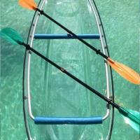 Buy cheap 100 % Clear Plastic Kayak For Sport / Sightseeing 21.5kg Weight Stable from wholesalers