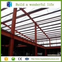 Buy cheap Steel structure building casting production workshop portal frame truss from wholesalers