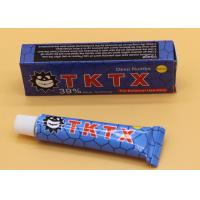 Buy cheap 39% Blue TKTX Topical Anesthetic Cream For Laser Hair Removal from wholesalers
