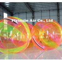 Buy cheap Water Game Multicolor TPU Inflatable Water Walking Ball for Sale product