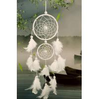Buy cheap White Dream Catcher Feather Decoration Home Decor Yiwu Craft, Party Decoration pretty Colors Available Wholesale Indian from wholesalers
