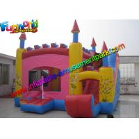 Buy cheap Trink Bell Vinyl Inflatable Bouncy Slide , Inflatable Combo Jumping Castle from wholesalers