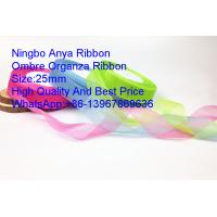 Buy cheap Ombre organza ribbon flower,Gift Ribbon,Organza ribbon,fashion ribbon,Organza,Polyester,OrganzaClothing Accessories from wholesalers