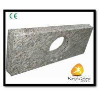 Buy cheap Xiamen Kungfu Stone Ltd supply River White Granite Countertops  In High quality and cheap price from wholesalers