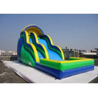 Buy cheap Commercial Inflatable Giant Jumping Water Slide Twist With Pool 18 * 8m from wholesalers