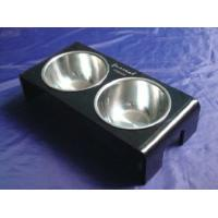 Buy cheap Rectangle 8mm Ruby Acrylic Pet Bowl Food Feeder For Dog , Cat OEM from wholesalers