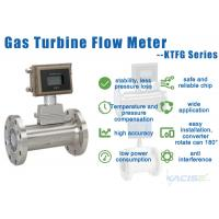 Buy cheap Stainless Steel Gas Turbine Flow Meter 4-20mA Output Digital Flowmeter from wholesalers