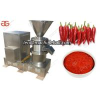 Buy cheap Chili Paste Grinding Machine|Chili Butter Grinder Machine|Pepper Paste Grinding Machine For Sale from wholesalers
