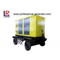 Buy cheap Automatic Trailer Type Mobile Power Generator Station Electric Governer 30kw Diesel IP23 product