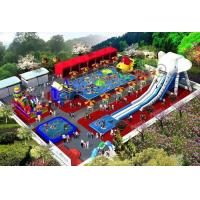 Buy cheap High Strength Inflatable Water Parks With 0.9mm PVC Tarpaulin from wholesalers