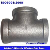 Buy cheap Black malleable iron pipe fitting Tee from wholesalers