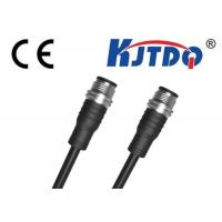 Buy cheap M12 Waterproof Connector Cable / Proximity Sensors Cable Industrial Ethernet Connector from wholesalers