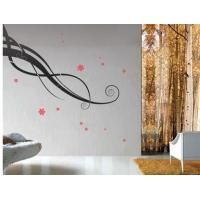 Buy cheap Funky Wall Flower Stickers G044, /Decorative Wall Stickers /Decal Wall Stickers /Floral Wall Stickers from wholesalers