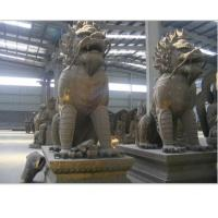 Buy cheap bronze pair kylin sculpture from wholesalers