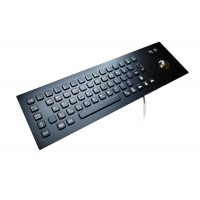 Buy cheap IP65 Industrial Metal Mechanical Keyboard With 38.Mm Trackball from wholesalers