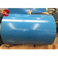 Buy cheap PPGI Or PPGL Color Coated Steel Coil / ASTM Pre Coated Galvanized Sheets from wholesalers