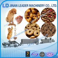 Buy cheap Automatic Low consumption dog food making extruder machine for fish feed from wholesalers