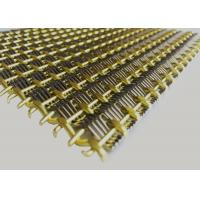 Buy cheap Decorative Metal Fabric Cladding , architectural metal mesh Weft Diameter 1.5mmx4 from wholesalers