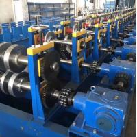 Buy cheap Durable Highway Guardrail Roll Forming Machine 300 H - High Grade Steel Frame Material from wholesalers